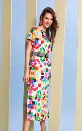 Жіноча сукня з вирізом Burdastyle