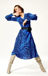 Женское платье срасклешенной юбкой Burdastyle фото 1