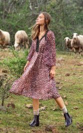 Женское платье с расклешенной юбкой Burdastyle фото 1
