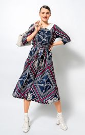Жіноча відрізна сукня Burdastyle
