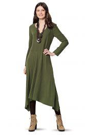 Жіноча асиметрична сукня Burdastyle