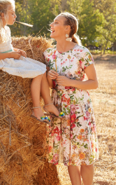Жіноча сукня з пишною спідницею Burdastyle