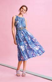 Жіноча сукня з американськими проймами Burdastyle