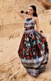 Жіноча сукня з американською проймою Burdastyle