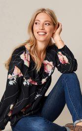 Жіноча блузка кармен Burdastyle