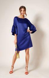 Жіноча міні-сукня з оборками Burdastyle