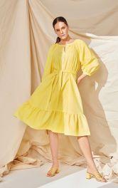 Женское платье широкого кроя Burdastyle