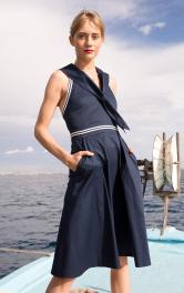 Жіноча сукня в морському стилі Burdastyle