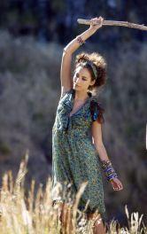 Жіноча сукня зі спідницею балон Burdastyle