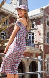 Женское платье с вырезом кармен Burdastyle фото 1