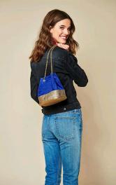 Жіноча сумка-мішок на ланцюжку Burdastyle
