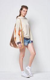 Жіноча велика сумка шопер Burdastyle