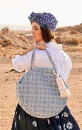 Жіноча кругла сумка Burdastyle