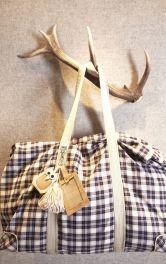 Дорожня сумка з довгими ручками Burdastyle
