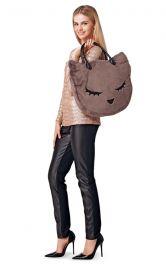 Жіноча сумка з двома ручками Burdastyle