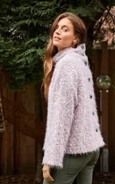 Пуловер с высоким воротником и застежкой на спинке Burdastyle фото 1