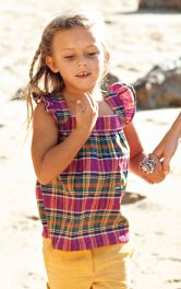 Дитяча туніка на бретелях Burdastyle