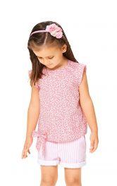 Дитяча блузка без рукавів Burdastyle