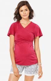 Жіноча футболка з драпіровками Burdastyle