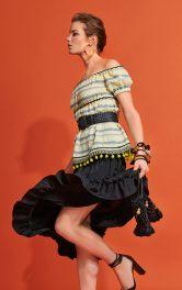 Женская блузка кармен Burdastyle