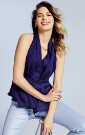 Жіноча блузка з американською проймою Burdastyle