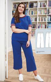 Женские трикотажные брюки Burdastyle фото 1