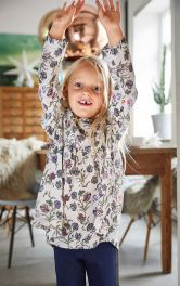 Дитяча блузка з оборкою Burdastyle