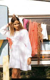 Жіноча літня сукня крою Burdastyle