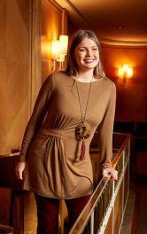 Женская туника с драпировками Burdastyle фото 1