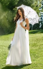 Жіноча довга весільна сукня Burdastyle