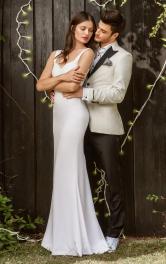 Жіноча весільна сукня силуету русалка Burdastyle