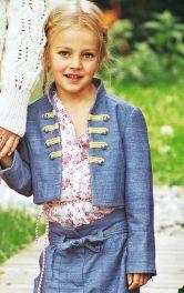 Дитячий жакет-мундир Burdastyle