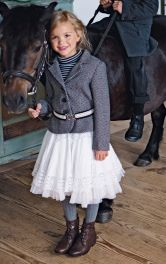 Дитячий жакет з баскою Burdastyle