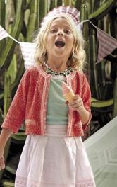 Дитячий жакет в стилі Шанель Burdastyle