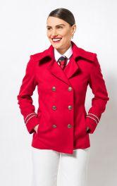 Жіноча куртка-бушлат Burdastyle