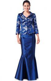 Жіночий святковий костюм Burdastyle