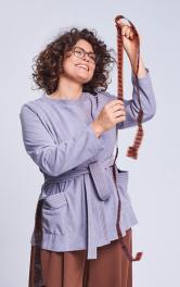 Жіночий жакет прямого крою Burdastyle