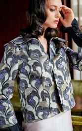 Жіночий жакет в стилі ретро Burdastyle