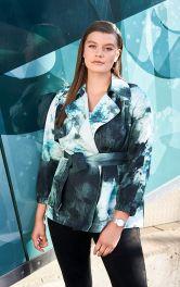 Жіноча куртка-тренч Burdastyle