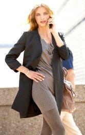 Жіноче двобортне пальто Burdastyle