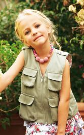 Дитячий жилет з кишенями Burdastyle