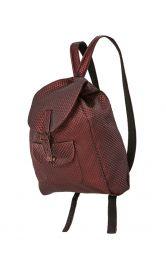 Жіночий шкіряний рюкзак Burdastyle