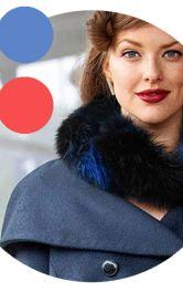 Пальто в монокольорі: вибираємо модель