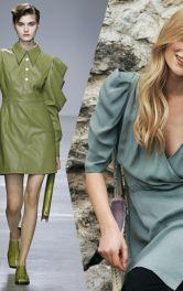 Модели одежды с объёмными рукавами