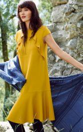 10 образів у жовто-синій гамі від BURDA