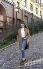 Пальто в стилі Макс Мара