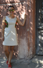 Сукня для прогулянки старими вуличками міста Херсону