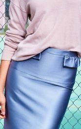 Як виконати прямий пояс спідниці і брюк