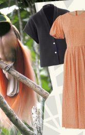 Модели Burda Style в ярких летних комбинациях