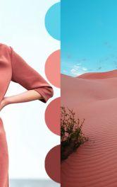 Одяг в природніх рожевих тонах